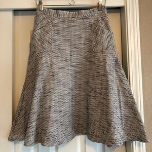 Anthropologie Rue 58 flare skirt